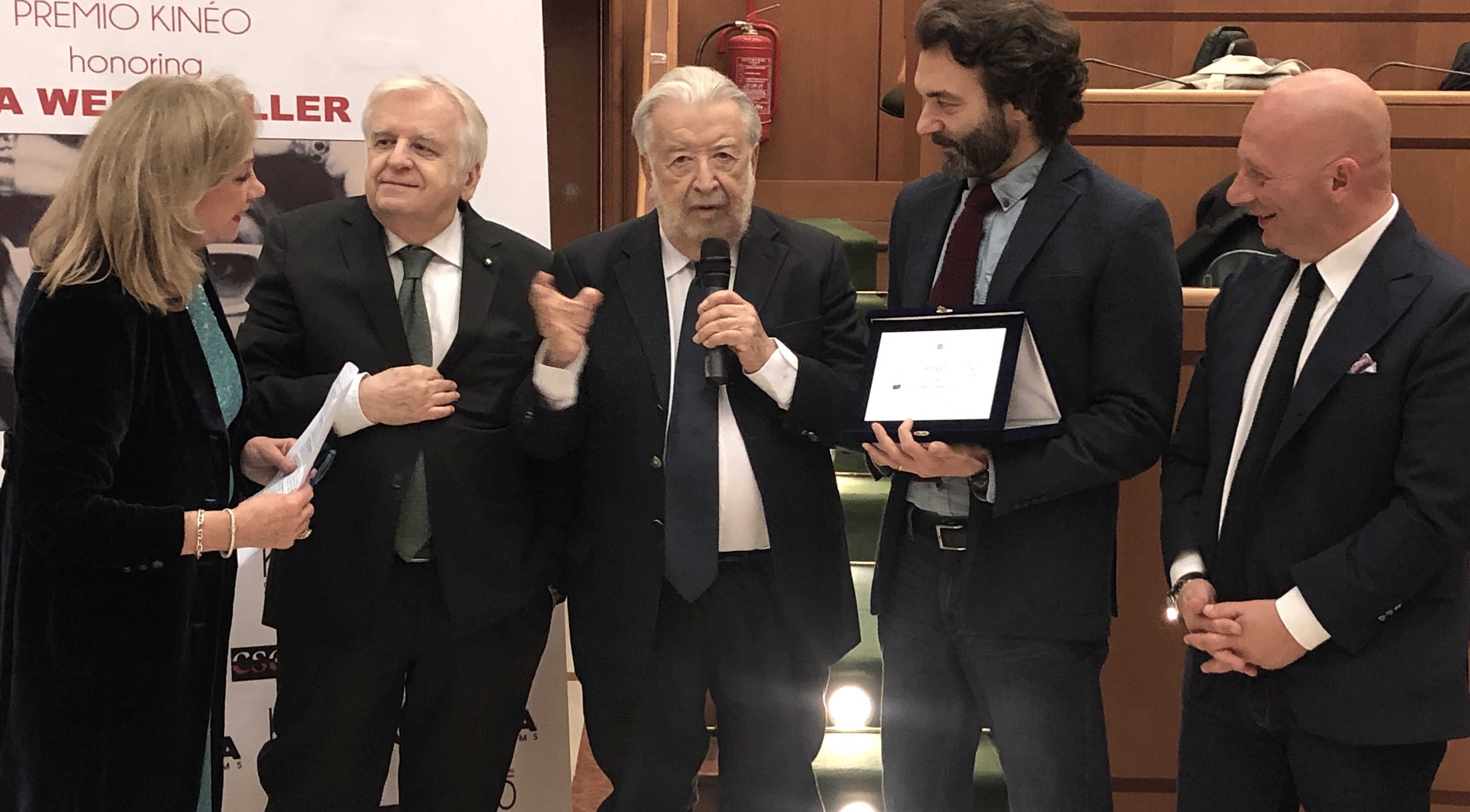 Pupi Avati al Premio Kinèo Credit by: Hai sentito che musica