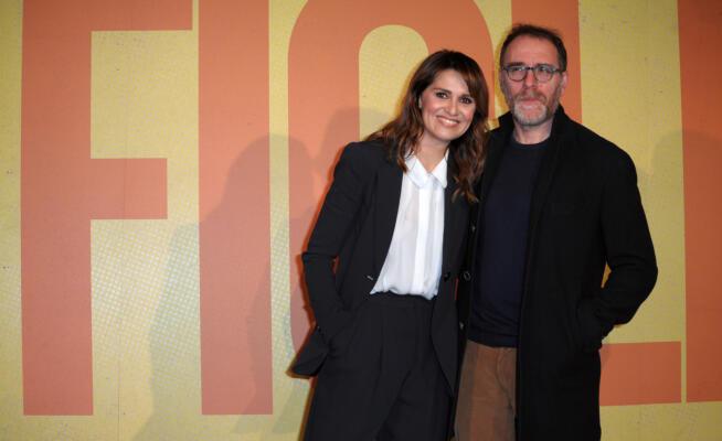 Il Film Figli con Paola Cortellesi e Valerio Mastrandrea. Credit by: www.kikapress.com