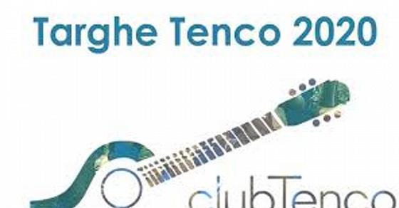 Targhe Tenco. Credit by:www.rainews.it