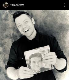Tiziano Ferro album cover. Credit by: ig Tiziano Ferro