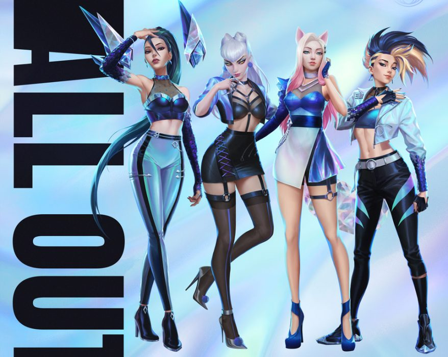K-pop - K/DA ALL OUT