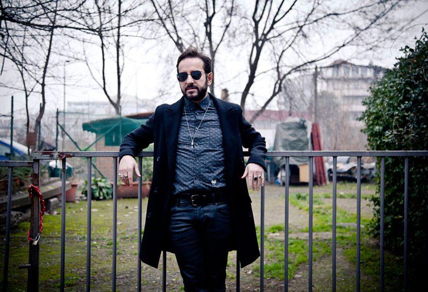 cantautore Fernando Alba. Credit by:Clara Iudica